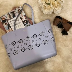 Kate Spade Faye Drive Hallie Tote in Sky Blue.